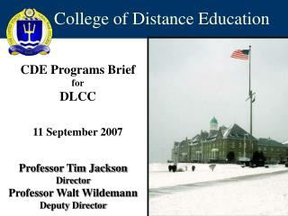 College of Distance Education