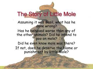 The Story of Little Mole