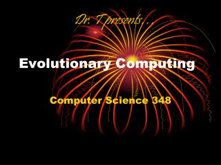 Evolutionary Computing