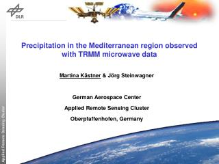 Precipitation in the Mediterranean region observed with TRMM microwave data