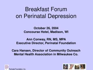 What Is Perinatal Depression?