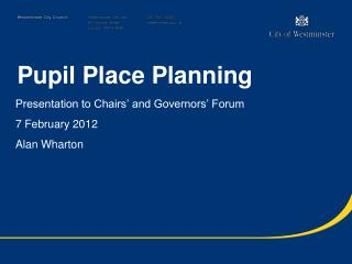 Pupil Place Planning