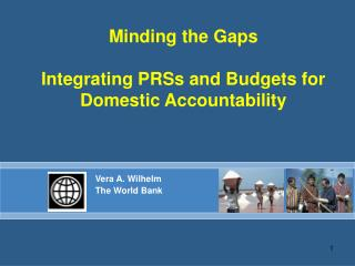 Minding the Gaps Integrating PRSs and Budgets for Domestic Accountability