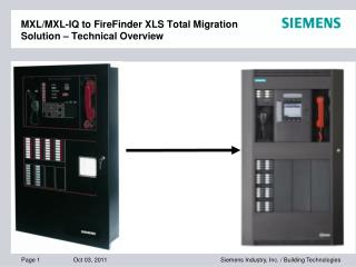 MXL/MXL-IQ to FireFinder XLS Total Migration Solution – Technical Overview