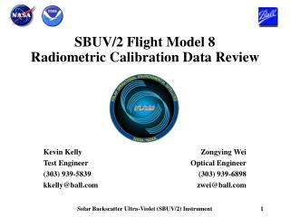 SBUV/2 Flight Model 8 Radiometric Calibration Data Review
