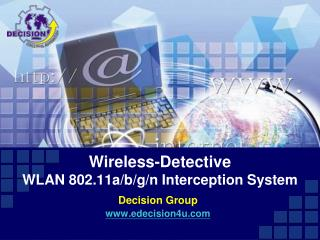 Wireless-Detective WLAN 802.11a/b/g/n Interception System