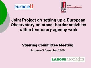 Steering Committee  Meeting Brussels  3 December 2009