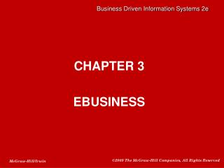 CHAPTER 3 EBUSINESS
