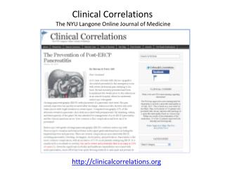 Clinical Correlations  The NYU Langone Online Journal of Medicine