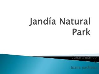Jandía Natural Park