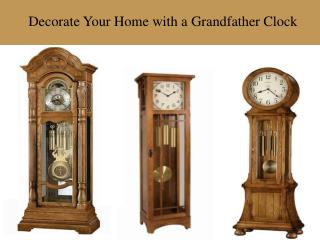 Buy Online Grandfather Wall Clocks