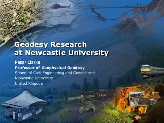 Geodesy Research  at Newcastle University