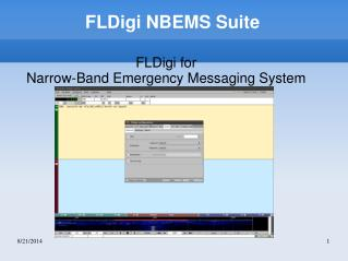 FLDigi NBEMS Suite