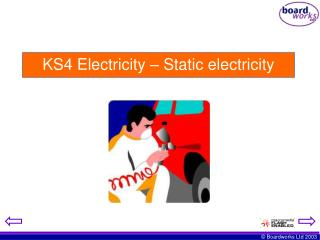 KS4 Electricity – Static electricity