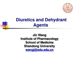 Diuretics and Dehydrant Agents