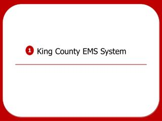 King County EMS System