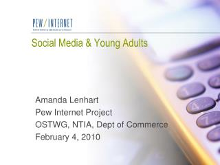 Social Media & Young Adults