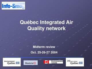 Québec Integrated Air Quality network