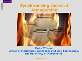 Synchronizing clocks at Armageddon