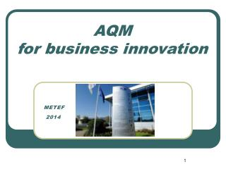 AQM  for business innovation