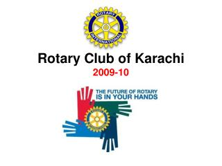Rotary Club of Karachi 2009-10