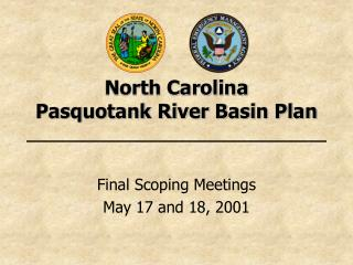 North Carolina  Pasquotank River Basin Plan