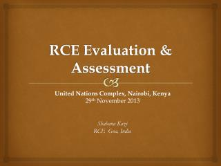 RCE Evaluation & Assessment