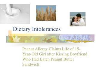 Dietary Intolerances