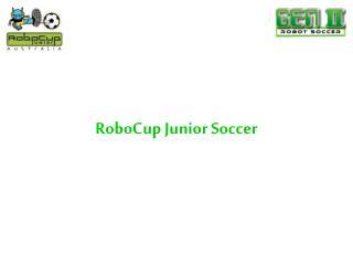 RoboCup Junior Soccer