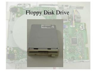 Floppy Disk Drive