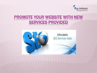 Seo Services in India at good looking packages