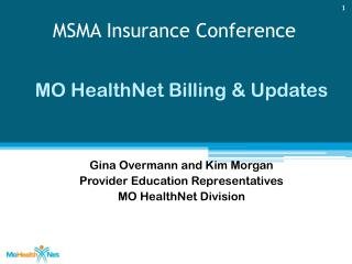 MSMA Insurance Conference