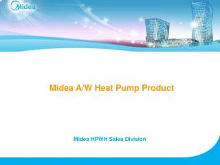 Midea A/W Heat Pump Product