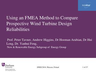 Purposes of an FMEA