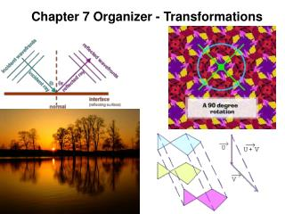 Chapter 7 Organizer - Transformations