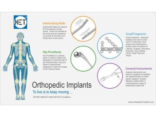 Manufacturer and suppliers of Orthopaedic Implants