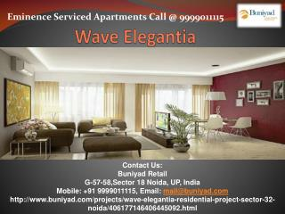 Wave Elegentia - A Range of 2 BHK Premium Apartments