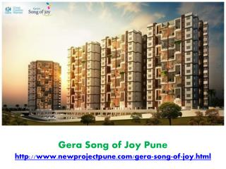 Gera Song of Joy - Affordable Price with High Class Living C