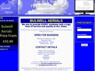 Bulwell Aerials Nottingham , TV antenna installation Notting