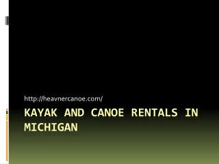 Kayaking and Canoeing Trips