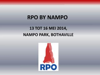 RPO BY NAMPO