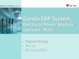 Ganda ERP System Electrical Power Module (version : R01)