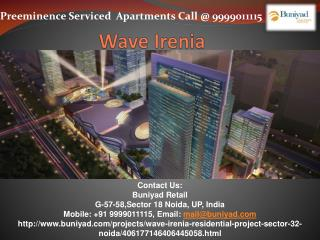 Wave Irenia - New Residential Tower in Wave City Center