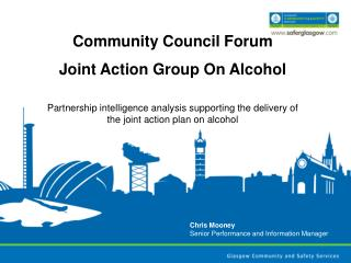 Community Council Forum   Joint Action Group On Alcohol