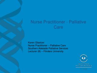 Nurse Practitioner - Palliative Care