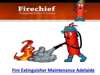 Fire Extinguisher Maintenance Adelaide