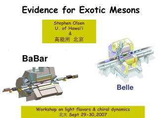 Evidence for Exotic Mesons