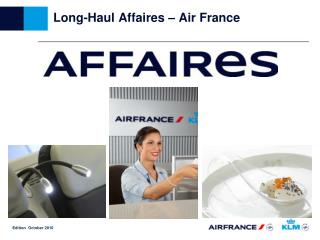 Long-Haul Affaires – Air France