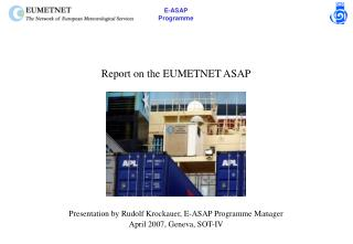 Report on the EUMETNET ASAP