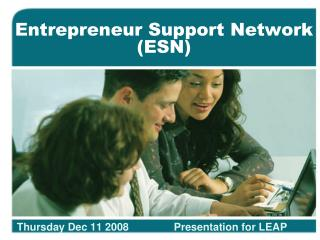 Entrepreneur Support Network (ESN)